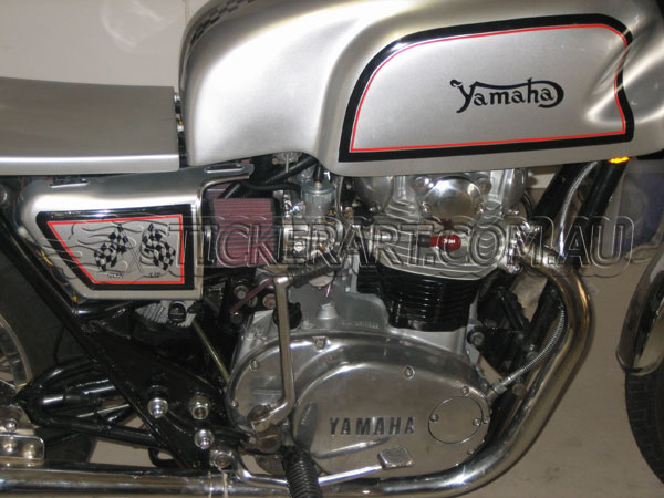 Custom Yamaha Stickers