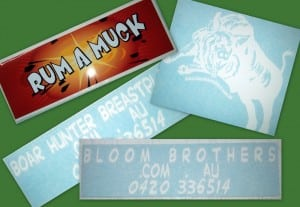 Bloom Brothers Custom Stickers