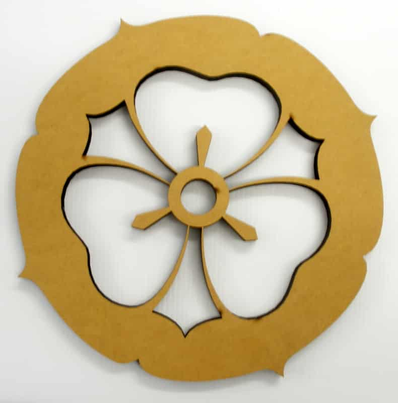 Car cutting sticker design - Custom Laser Cut Mdf Floral Design Want Your Own Custom Laser Cut