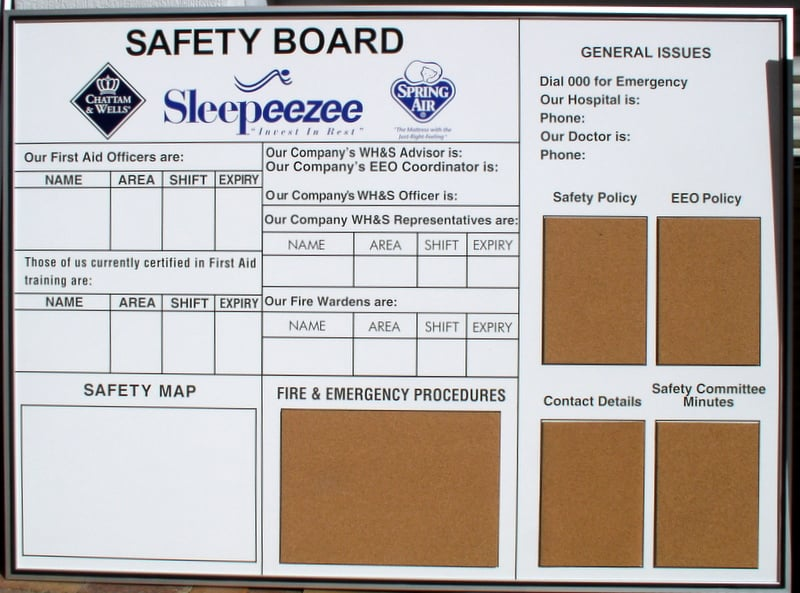 Car cutting sticker design - Safety Board Notice White Board Sleepeeze Custom The Art Of Stickers