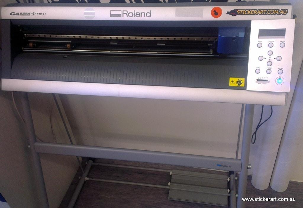 vinyl decal cutter machine