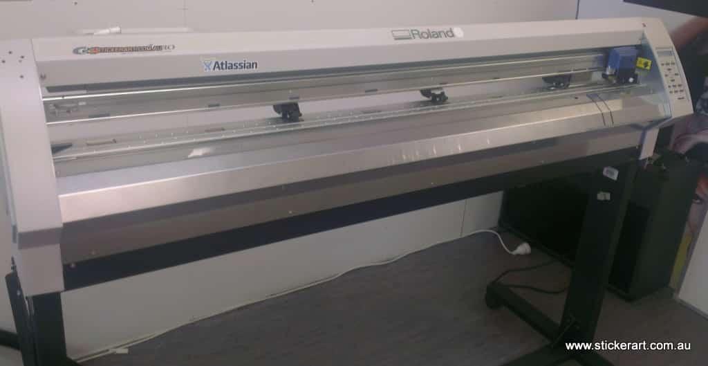 cut vinyl decals machine
