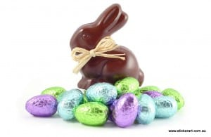 Chocolate-Easter-Bunny-Easter-eggs