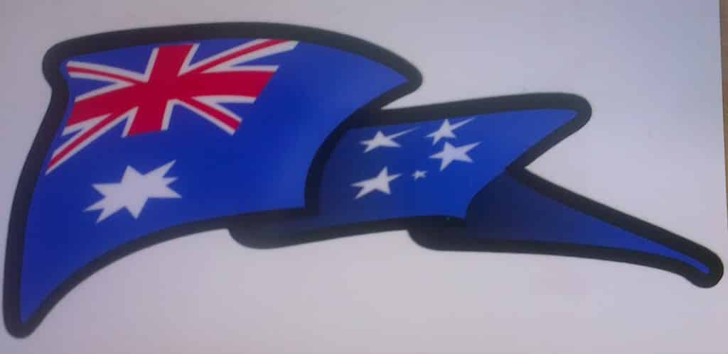 Waving-Flag-Sticker