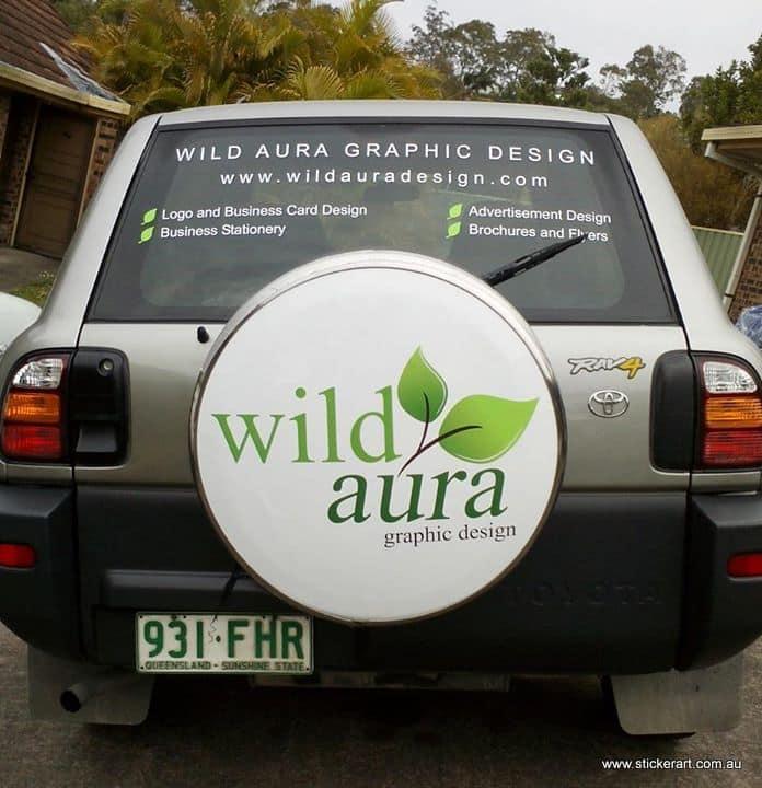 Wild aura graphics custom car decal customer 2