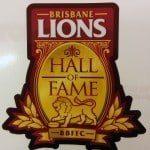 Brisbane Lions AFL sticker