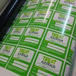 Printed Labels for Treat Australia
