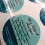 Custom Label/Sticker for Elke's Oils