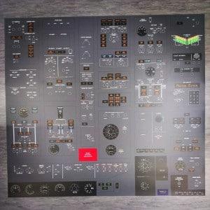 Custom Printed Matte Laminated Design for Flight Simulator