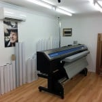 Printer and Laminator Room at The Art of Stickers