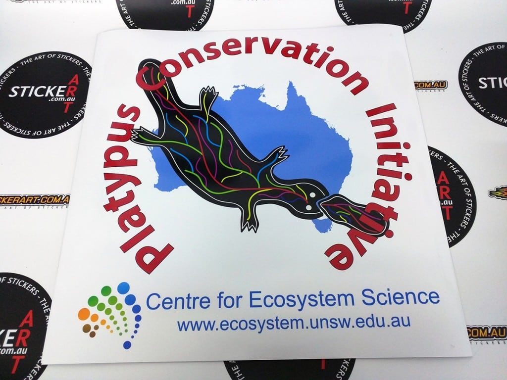 2016-02-the-art-of-stickers-brisbane-magnetic-car-sign-platypus-conservation-initiative-centre-for-ecosystem-science-university-new-south-wales